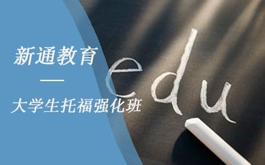 成都新通教育大学生托福强化班培训课程