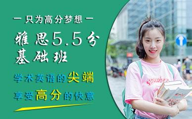 深圳新通教育雅思5.5分基礎班培訓課程