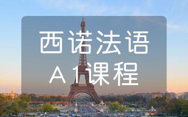 杭州西诺法语A1课程