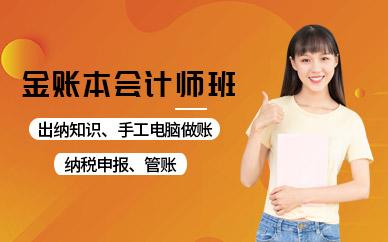 深圳金账本会计师培训班