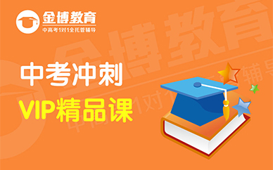 惠州金博教育中考VIP考前培训班