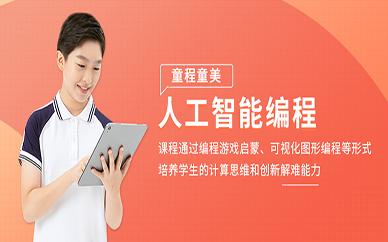 上海童程童美人工智能编程培训班