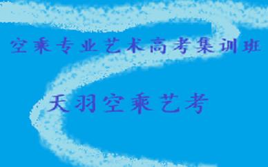 成都飞羽空乘专业艺术高考集训班(零基础)