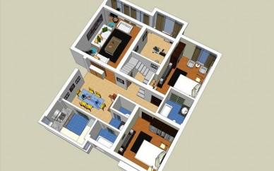赤峰CAD培训、家装效果图、室内装修设计学习